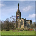 SD7711 : Christ Church, Walshaw by David Dixon