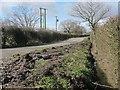 SJ7465 : Ditch alongside Brereton Lane by Stephen Craven