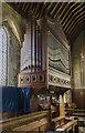 TF0851 : Organ, All Saints' church, Ruskington by Julian P Guffogg