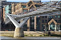 TQ3280 : Under the Millennium Bridge by David Martin