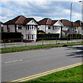 ST3091 : Detached houses, Malpas Road, Newport by Jaggery