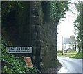 SW6335 : Praze-an-Beeble: entrance to the village from the south by Helena Hilton