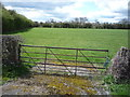 SK3133 : Field entrance off Haven Baulk Lane by JThomas