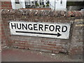 SU2771 : Pre-Worboys sign on Scholard's Lane, Ramsbury by David Howard