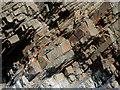 SS2117 : Rock strata at Welcombe Mouth, Devon : Week 17