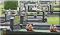 J1462 : Graveyard, Aghalee parish church, Soldierstown (May 2016) by Albert Bridge