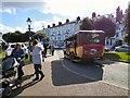 SH7882 : An old bus returns to Llandudno by Gerald England