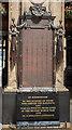 NS5865 : Caledonian Railway War Memorial by The Carlisle Kid