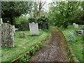 TL6427 : St Mary the Virgin Churchyard, Lindsell by Marathon