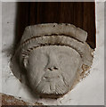 TL4943 : St Mary Magdalene, Ickleton - Corbel by John Salmon