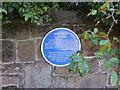 SJ3377 : Ashtree Farm plaque by Eirian Evans