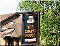 SJ9397 : Sign for the Chapel House by Gerald England