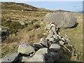 SH7268 : Glacial boulder wall by Jonathan Wilkins