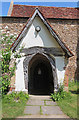 TL4748 : St Mary & St Andrew, Whittlesford - Porch by John Salmon