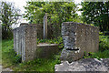SJ3168 : North Wales WWII defences: Queensferry, River Dee - pillbox remains SJ3196 6876  (2) by Mike Searle