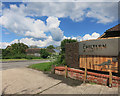 SP8408 : Chiltern Brewery Entrance by Des Blenkinsopp