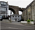 SW6941 : Two-storey house dwarfed by three structures, Redruth : Week 23