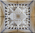 SK9771 : Central tower vaulting, Lincoln Cathedral by Julian P Guffogg