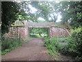SJ3177 : Wirral Way bridge near Windle Hill by John Slater