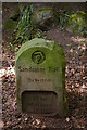 SJ5053 : Sandstone Trail waymarker, Bickerton Hill by Christopher Hilton