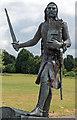 NY3259 : Statue - King Edward I - Burgh by Sands - June 2016 : Week 24