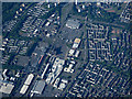 NS7574 : Cumbernauld town centre from the air by Thomas Nugent