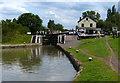 SP8928 : Soulbury Bottom Lock No 24 by Mat Fascione