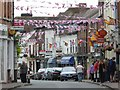 SO8540 : Bunting on Old Street, Upton upon Severn : Week 24