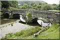 SH6640 : Bridge crossing Afon Dwyryd at Maentwrog by Arthur C Harris