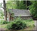 NJ7638 : Boathouse, Loch of Fyvie by Bill Harrison