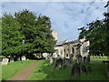 TL1696 : Holy Trinity, Orton Longueville: late June 2016 by Basher Eyre