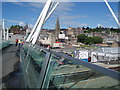 NS7993 : City centre, Stirling by Douglas Nelson