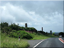 SW6930 : A394 Near Manhay Cornwall by Roy Hughes