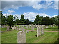 TF1207 : St Peter, Maxey: churchyard (VI) by Basher Eyre