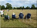 SO8742 : Spectators watching a game of rounders : Week 26