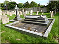 TF0904 : St Andrew, Ufford: family plot by Basher Eyre