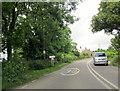 SW6028 : A394 Ashton Cornwall Village Sign by Roy Hughes