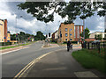 TL1896 : Junction of London Road and Drake Avenue (right), Peterborough by Robin Stott