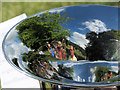 SP9210 : A Reflective View of the Brass Band in Tring Park : Week 27