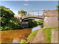 SJ4171 : Shropshire Union Canal, Bridge#134 (Caughall Bridge) by David Dixon