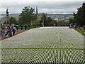 SX9293 : 19240 Shrouds of the Somme, Northernhay Gardens, Exeter : Week 27