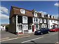 TQ1803 : Houses in East Street, Lancing by PAUL FARMER