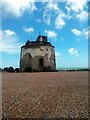 TQ6401 : Martello tower number 66 by PAUL FARMER