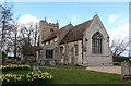 TL5770 : St Laurence, Wicken by John Salmon