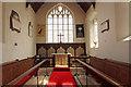 TL5770 : St Laurence, Wicken - Chancel by John Salmon