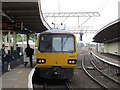SD4970 : Carnforth station: Pacer to Heysham by Stephen Craven