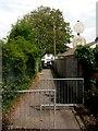 SZ0794 : Ensbury Park: Furze Bank Lane nears Columbia Road by Chris Downer