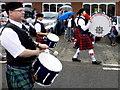 H3985 : The big drum, Adair Memorial Pipe Band : Week 28