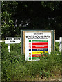 TM0280 : White House Farm signs by Adrian Cable