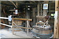 SP9416 : Ford End Watwermill - the stone floor by Chris Allen